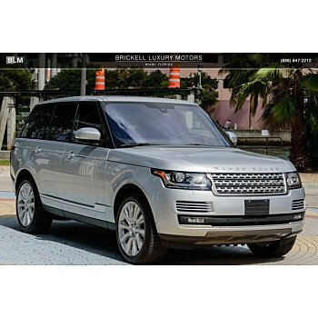 2016 Land Rover Range Rover Supercharged for sale 101090314