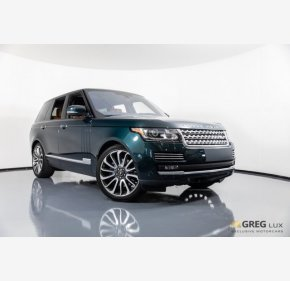 2016 Land Rover Range Rover Autobiography for sale 101086541