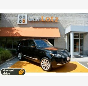 2016 Land Rover Range Rover Supercharged for sale 101179351