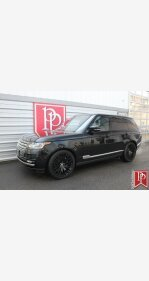 2016 Land Rover Range Rover Supercharged for sale 101235051
