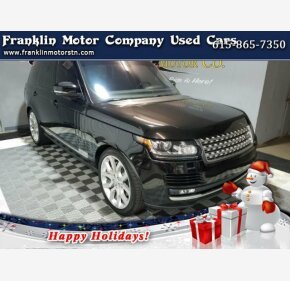 2016 Land Rover Range Rover HSE for sale 101244994