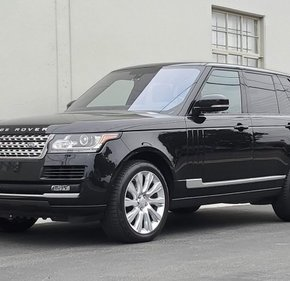 2016 Land Rover Range Rover Supercharged for sale 101249524