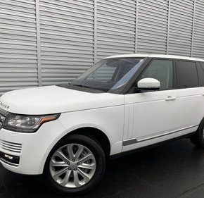 2016 Land Rover Range Rover HSE for sale 101255270