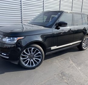 2016 Land Rover Range Rover Supercharged for sale 101303430