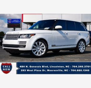 2016 Land Rover Range Rover for sale 101396110