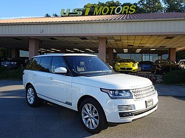 2016 Land Rover Range Rover for sale 101399297