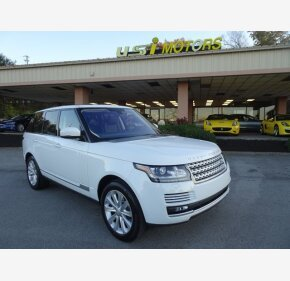 2016 Land Rover Range Rover for sale 101407544