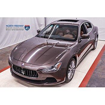 2016 Maserati Ghibli for sale 101100528