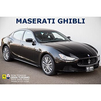 2016 Maserati Ghibli for sale 101386157