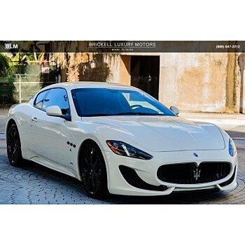 2016 Maserati GranTurismo Coupe for sale 101099755