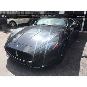 2016 Maserati GranTurismo Convertible for sale 101181681
