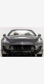 2016 Maserati GranTurismo Convertible for sale 101216392