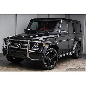 2016 Mercedes-Benz G63 AMG 4MATIC for sale 101149534