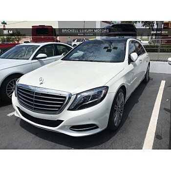 2016 Mercedes-Benz S550 Sedan for sale 101124372