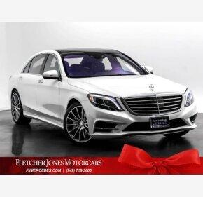 2016 Mercedes-Benz S550 Sedan for sale 101236137