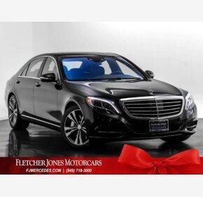2016 Mercedes-Benz S550 Sedan for sale 101241911