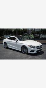 2016 Mercedes-Benz S550 4MATIC Coupe for sale 101126773