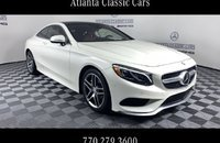 2016 Mercedes-Benz S550 4MATIC Coupe for sale 101196990