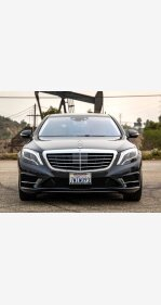 2016 Mercedes-Benz S550 4MATIC Sedan for sale 101407315
