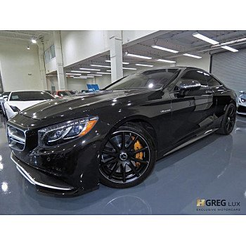 2016 Mercedes-Benz S63 AMG 4MATIC Coupe for sale 101051837