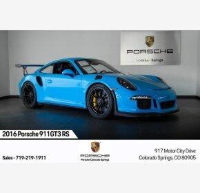 2016 Porsche 911 GT3 RS Coupe for sale 101209554