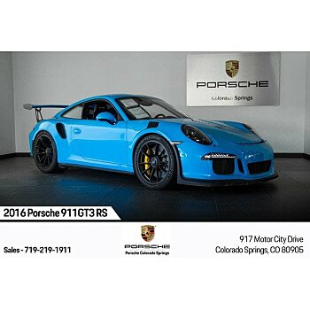 2016 Porsche 911 GT3 RS Coupe for sale 101209554