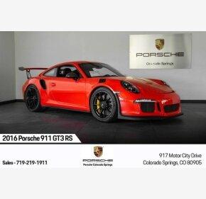 2016 Porsche 911 GT3 RS Coupe for sale 101209570