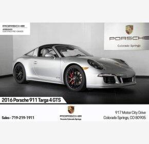 2016 Porsche 911 Targa 4S for sale 101209605