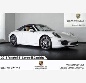 2016 Porsche 911 Cabriolet for sale 101209608