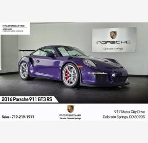 2016 Porsche 911 GT3 RS Coupe for sale 101276291