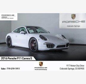2016 Porsche 911 Coupe for sale 101299411