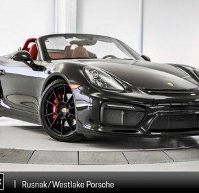 2016 Porsche Boxster Spyder for sale 101106550
