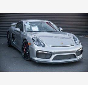 2016 Porsche Cayman GT4 for sale 101056424