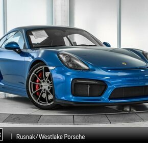 2016 Porsche Cayman GT4 for sale 101106531