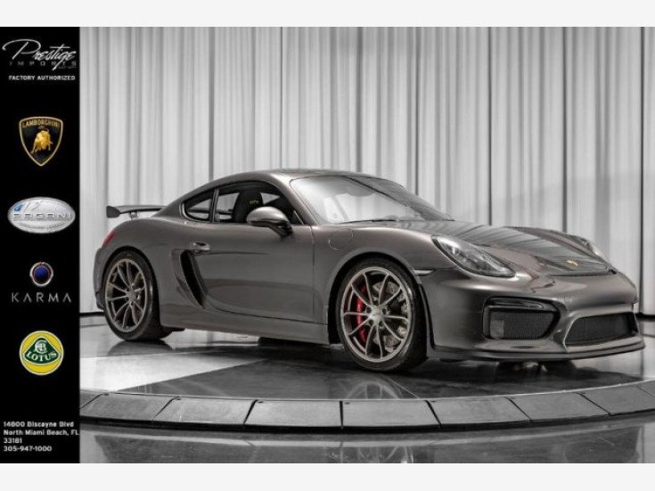 2016 Porsche Cayman Gt4 For Sale Near North Miami Florida