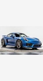 2016 Porsche Cayman GT4 for sale 101162240