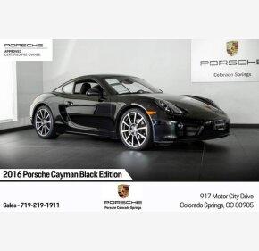 2016 Porsche Cayman for sale 101213456
