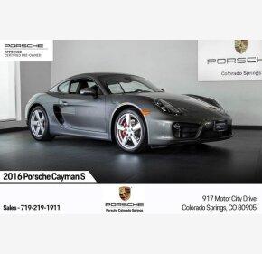 2016 Porsche Cayman for sale 101240884