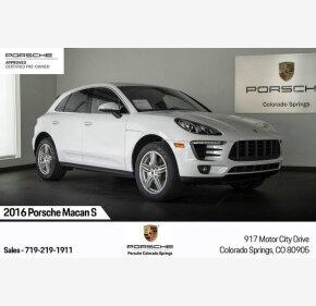 2016 Porsche Macan s for sale 101249703