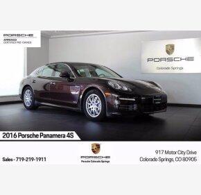 2016 Porsche Panamera for sale 101344332