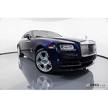 2016 Rolls-Royce Wraith for sale 101065439