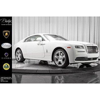 2016 Rolls-Royce Wraith for sale 101102933