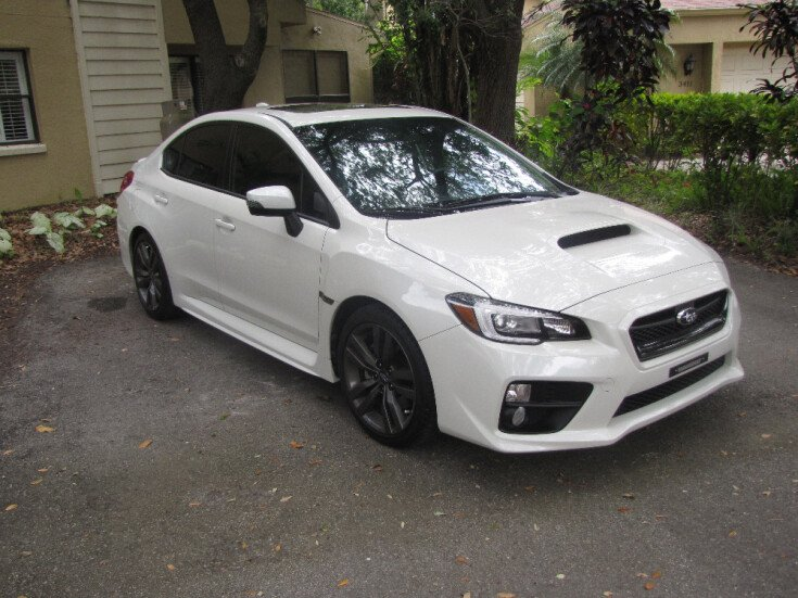 2016 Subaru WRX Limited for sale 100779165