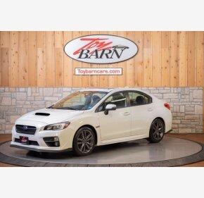 2016 Subaru WRX Limited for sale 101459105