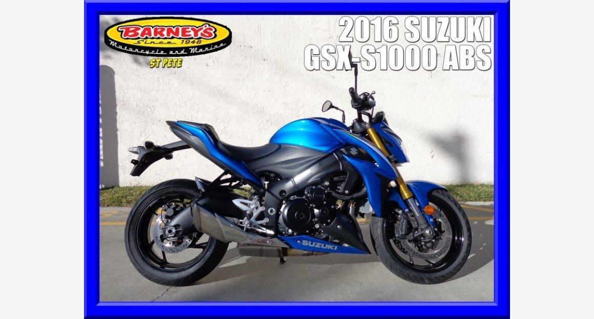 2016 Suzuki GSX-S1000 for sale 200600419