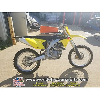 2016 Suzuki RM-Z450 for sale 200637449