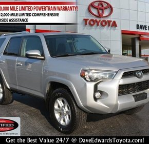 2016 Toyota 4Runner 4WD for sale 101018654
