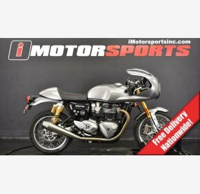 2016 Triumph Thruxton R for sale 200789268