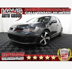 2016 Volkswagen GTI 4-Door for sale 101192977
