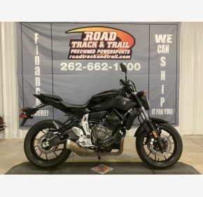2016 Yamaha FZ-07 for sale 201040417